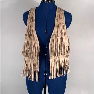 MILEY CYRUS fringe vest